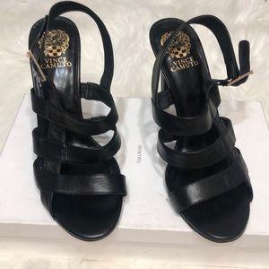 Vince Camuto Black  heels size 11 4 in heel